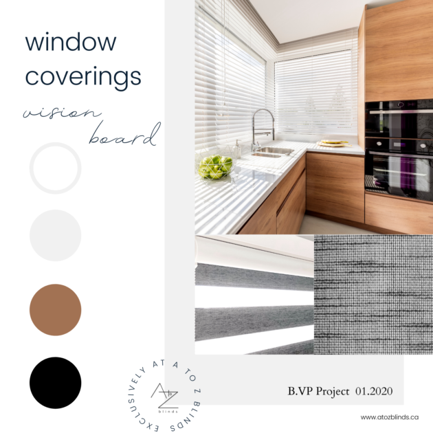 A to Z Blinds Vision Board